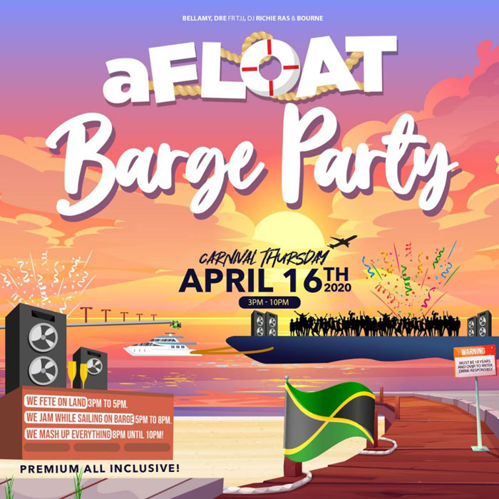aFLOAT Barge Party