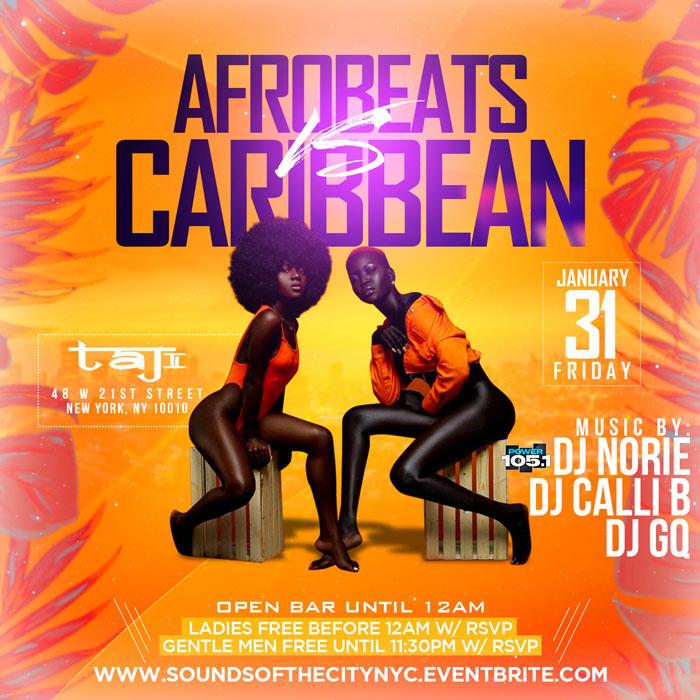Afrobeats vs Caribbean