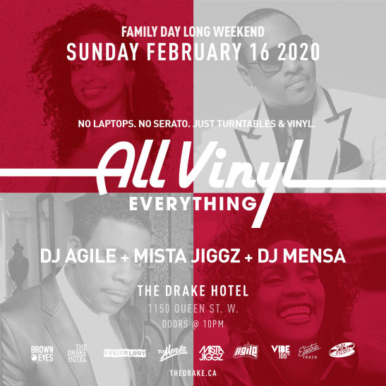 All Vinyl Everything - Family Day Long Weekend Edition