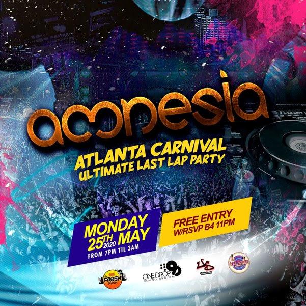 "Amnesia ""Atlanta Carnival Ultimate Last Lap Party"""