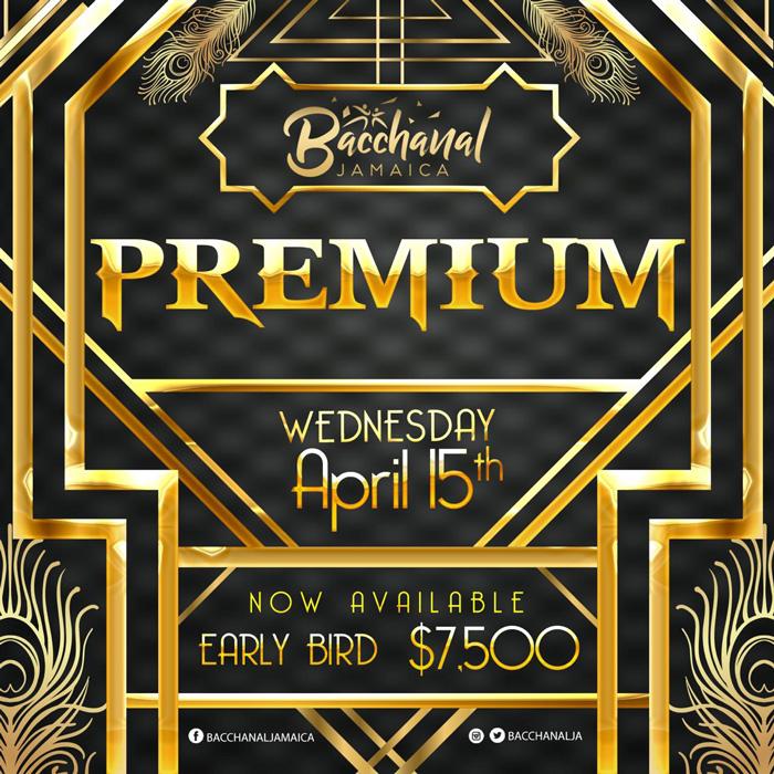 Bacchanal Jamaica PREMIUM 2020
