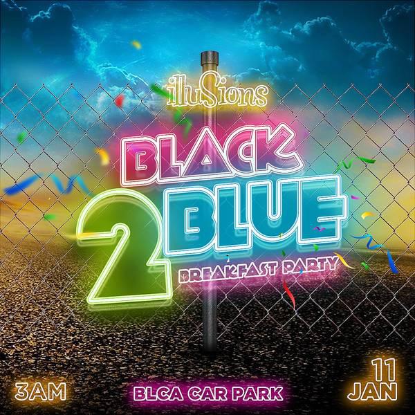 Black 2 Blue Breakfast Party
