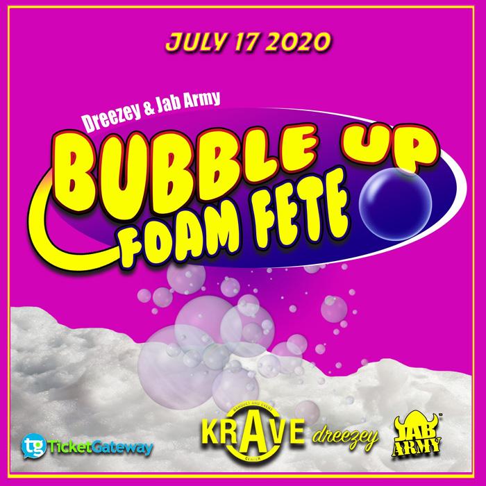 Bubble Up Foam Fete