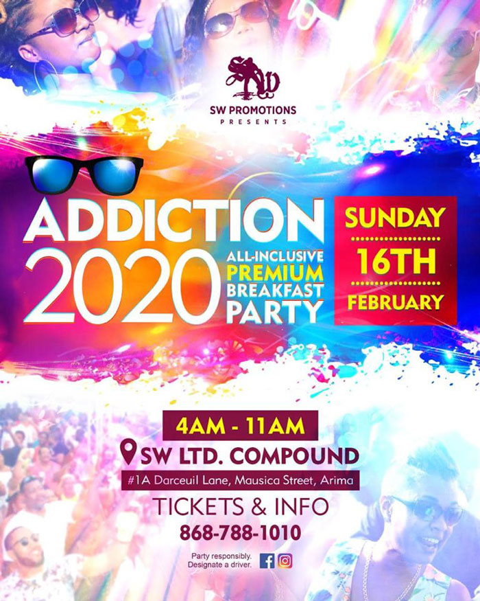 Addiction 2020 - All Inclusive Premium Breakfast Party
