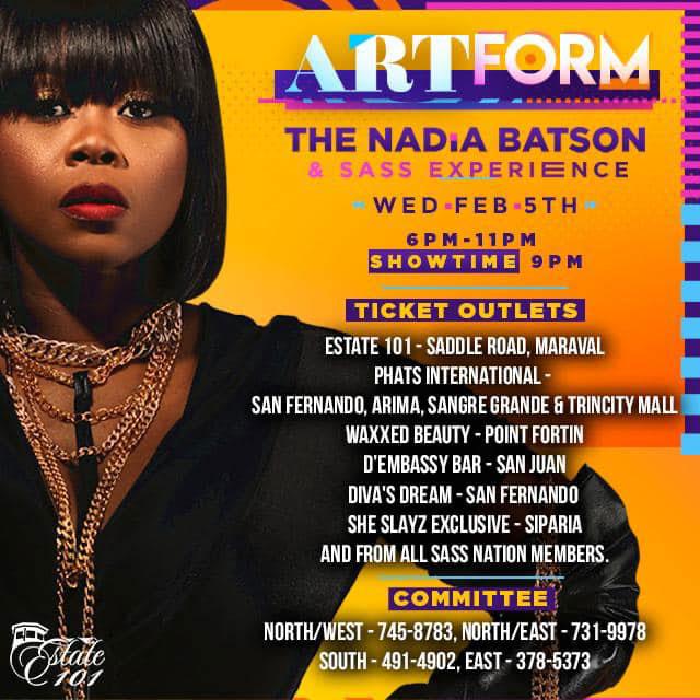 Artform - The Nadia Batson and Sass Experience