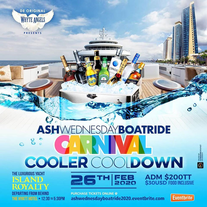 Ash Wednesday Cooler Cooldown Boatride