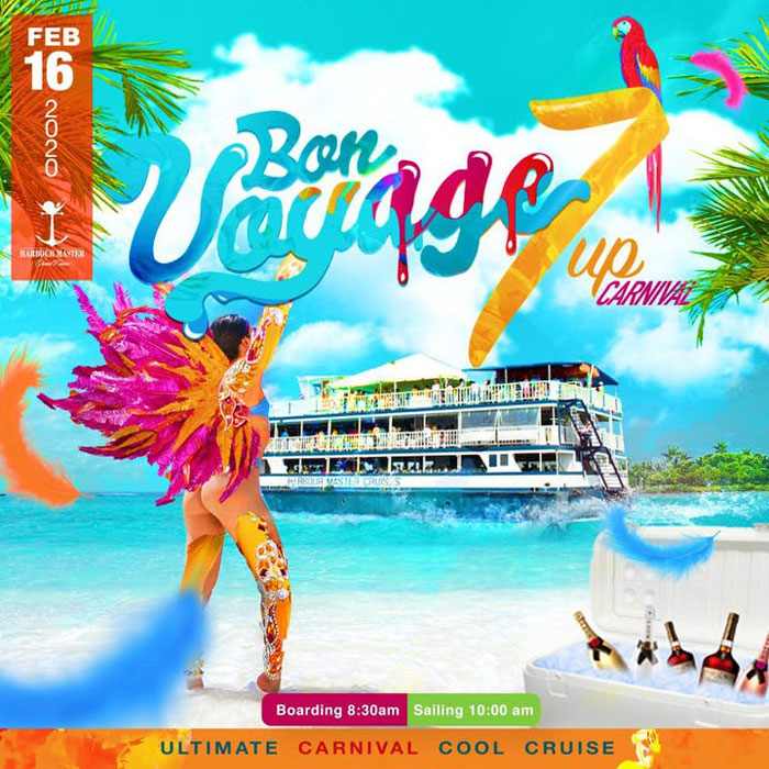 BON VOYAGE 7UP Carnival Cooler Cruise