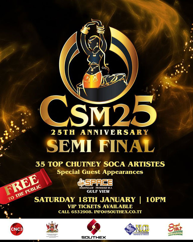 Chutney Soca Monarch - Semi Finals