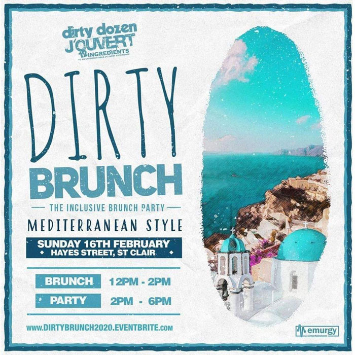 Dirty Brunch 2020 - The Inclusive Brunch Party