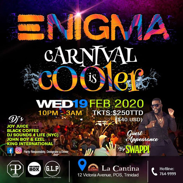 Enigma Carnival is Cooler