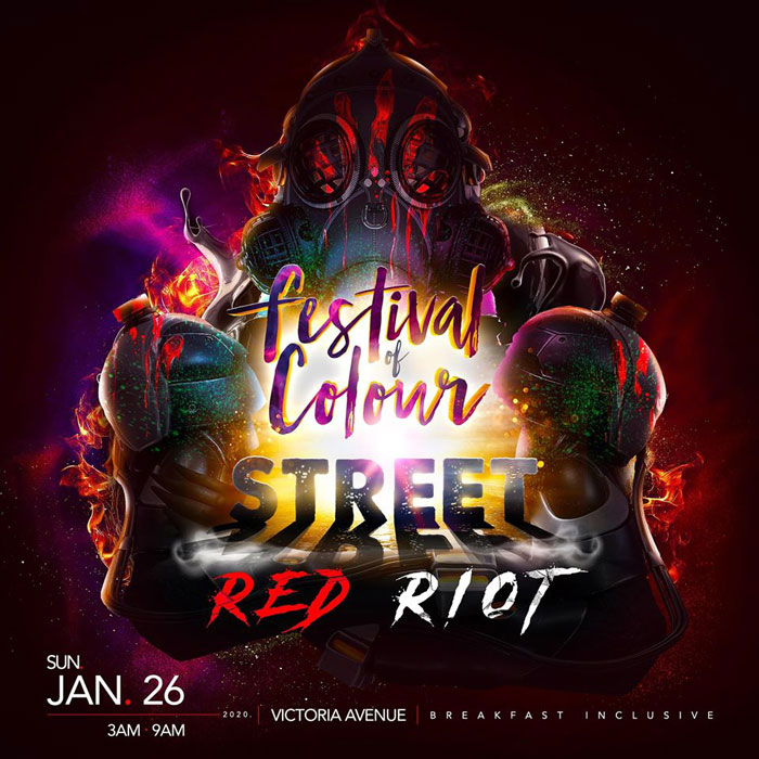 Festival Of Colour - Street