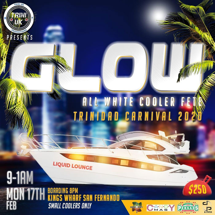 GLOW - All White Cooler Fete