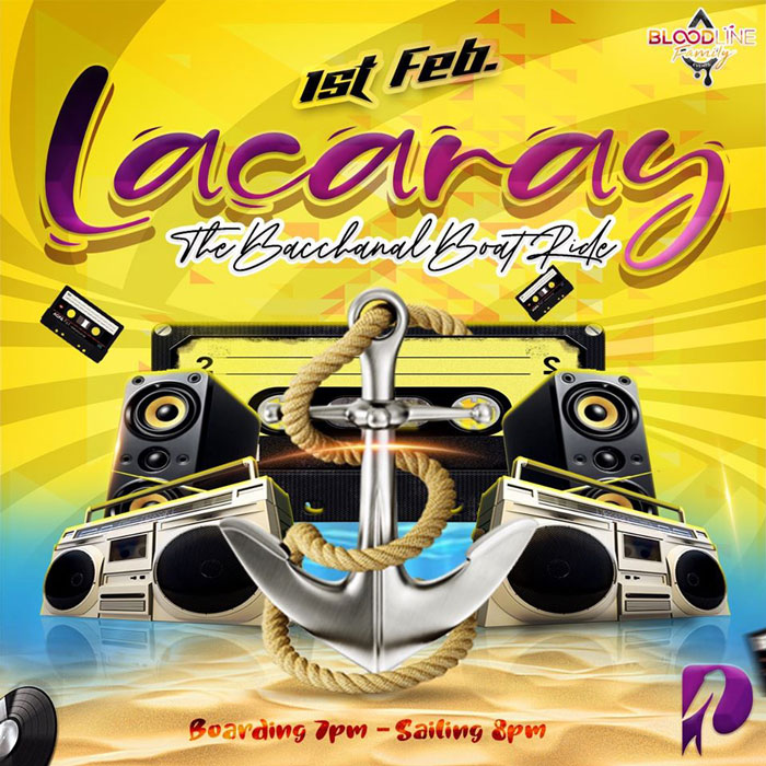 Lacaray - The Bacchanal Boat Ride