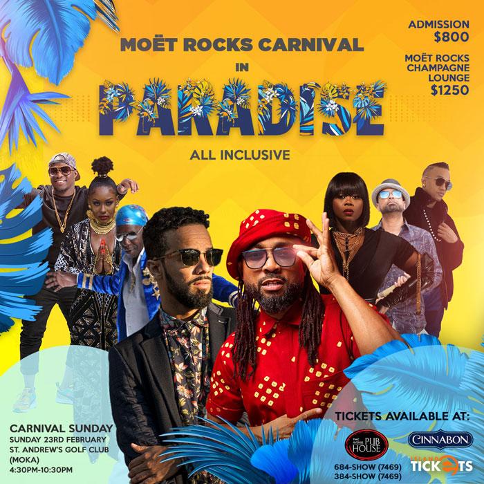 Moët Rocks Carnival in Paradise