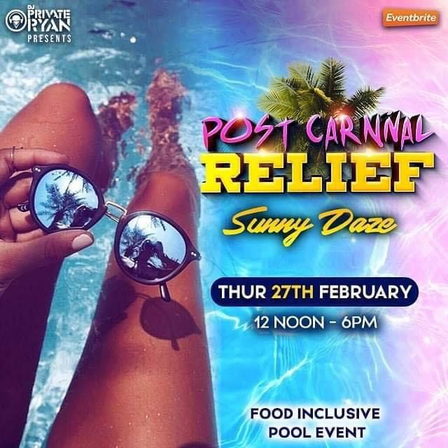 "Post Carnival Relief - ""Sunny Daze"""