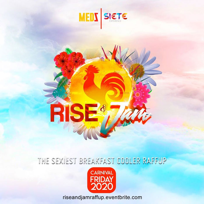 RISE & JAM - The Sexiest Breakfast Cooler Raff Up