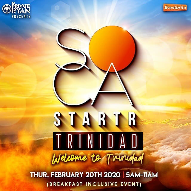 "Soca Starter ""Welcome to Trinidad"""