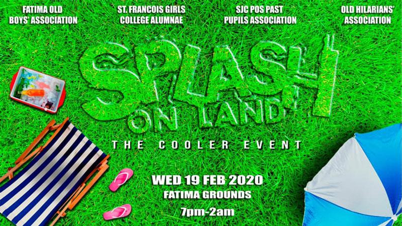 Splash on Land - Cooler Fete