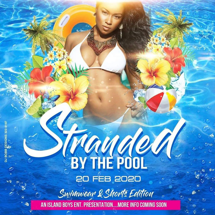 Stranded by the Pool Cooler Fete