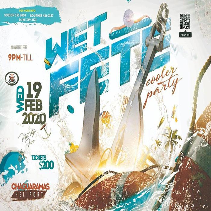 Trinidad And Tobago Coast Guard Wet Fete