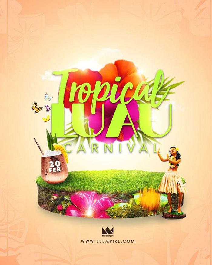 Tropical LUAU Carnival