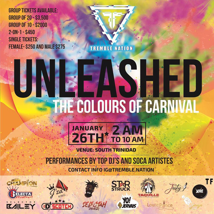 Unleashed - The Colours of Carnival