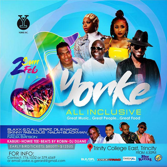 Yorke Annual Carnival All Inclusive