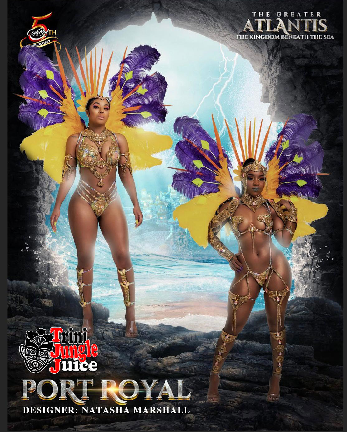 Bermuda Carnival 2020 - Play Mas with Trini Jungle Juice