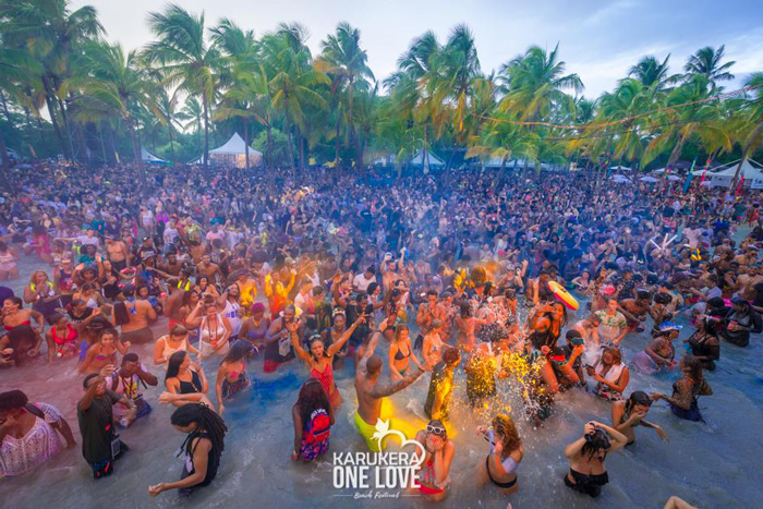 Karukera One Love Beach Festival - Trinidad & Tobago