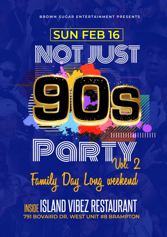 Not Just 90'S Party Vol. 2