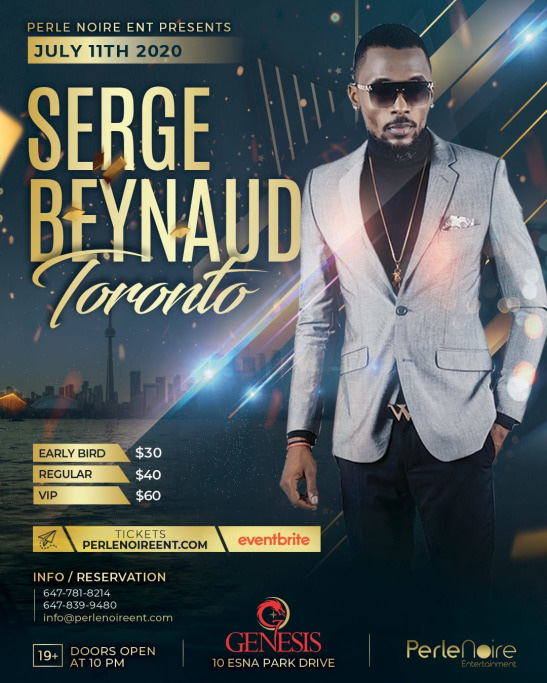 Serge Beynaud In Toronto