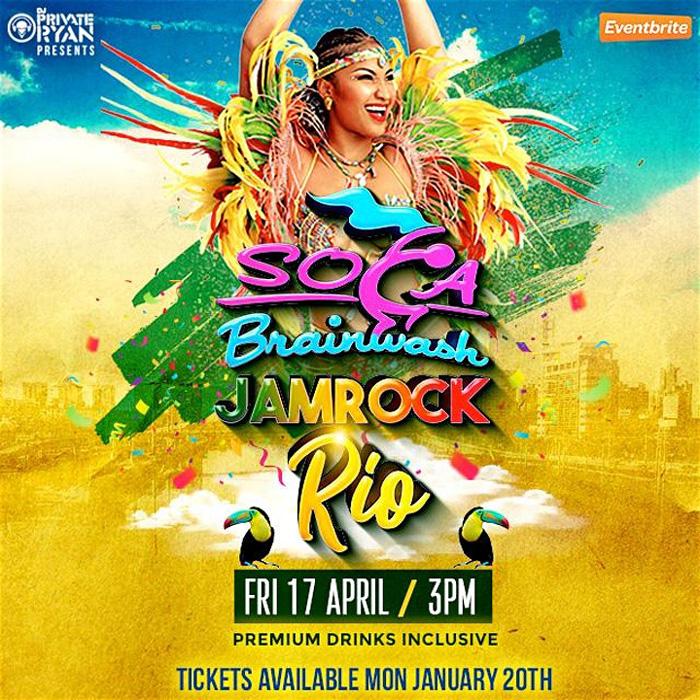 Soca Brainwash Jamaica 2020