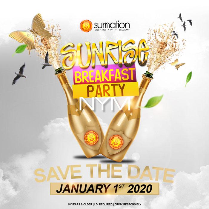 Sunrise Breakfast Party Jamaica - NYM 2020