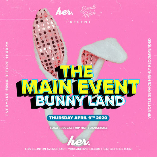 "The Main Event ""Bunny Land"""