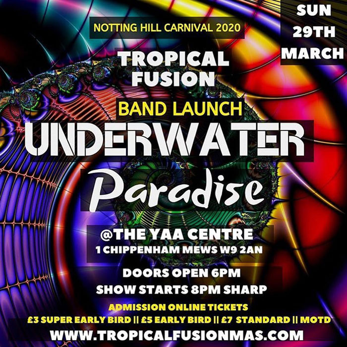 Tropical Fusion Band Launch - Underwater Paradise