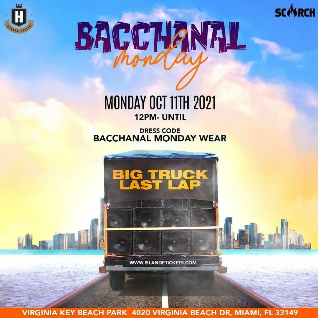 Bacchanal Monday: Monday Wear Event