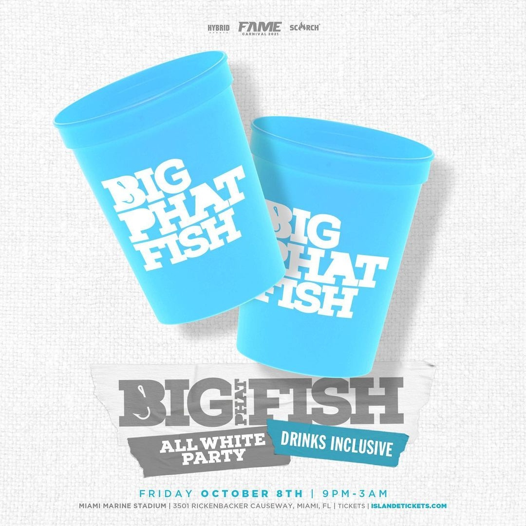 Big Phat Fish - All White Party