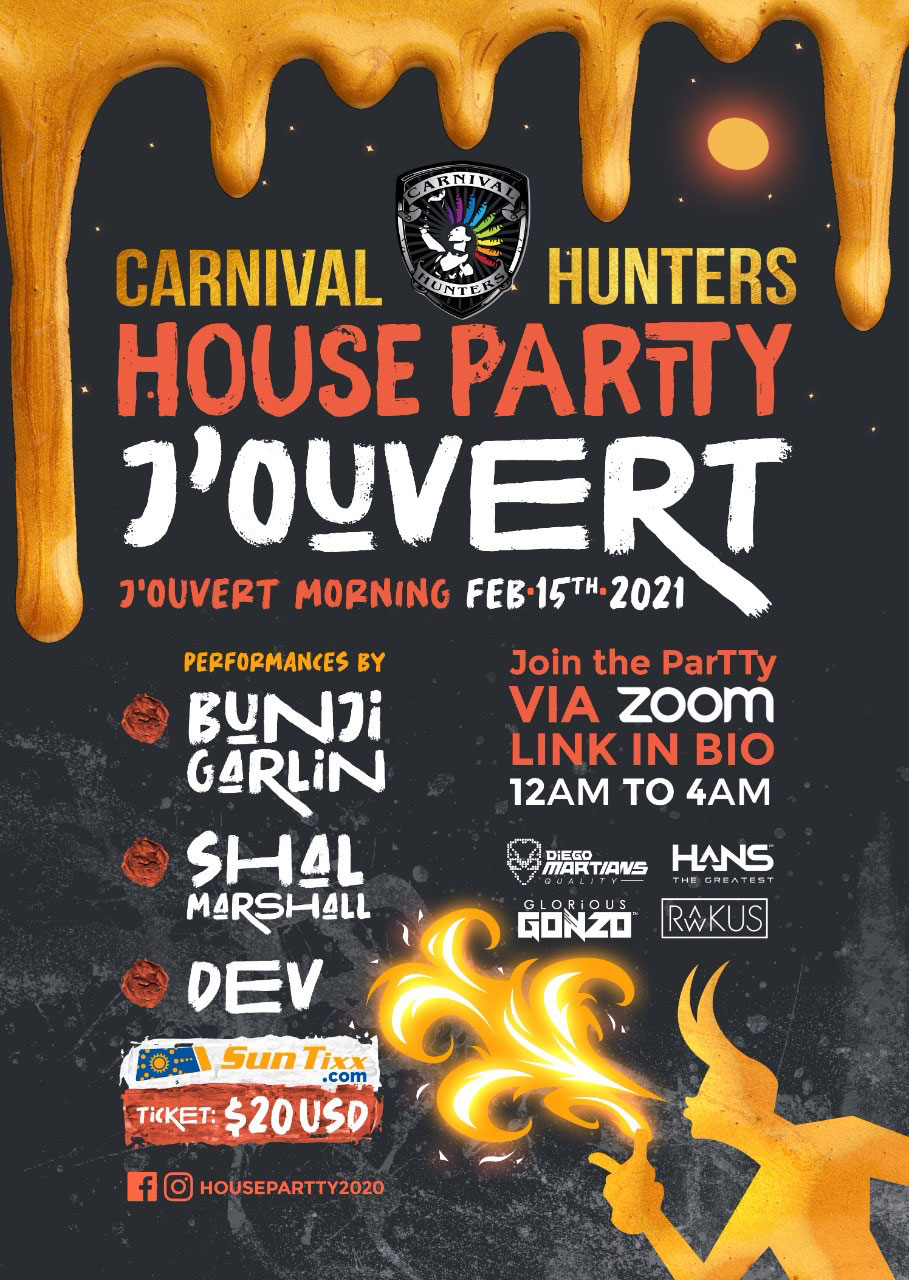 Carnival Hunters J'Ouvert House ParTTy