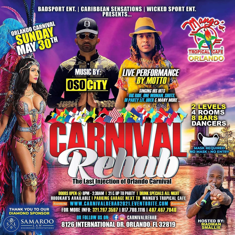 Carnival Rehab 2021