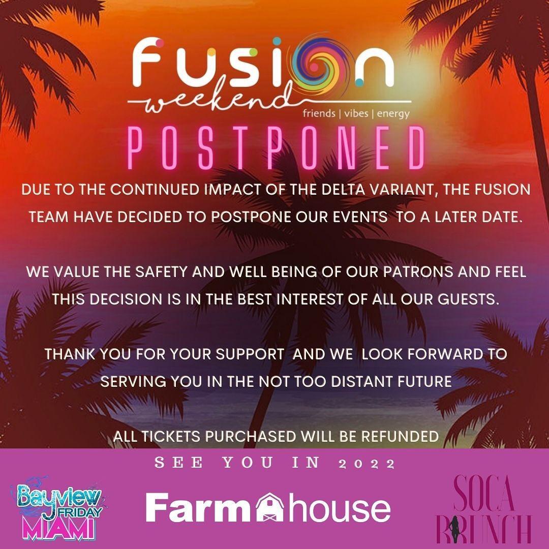 Fusion Weekend - Farmhouse Miami