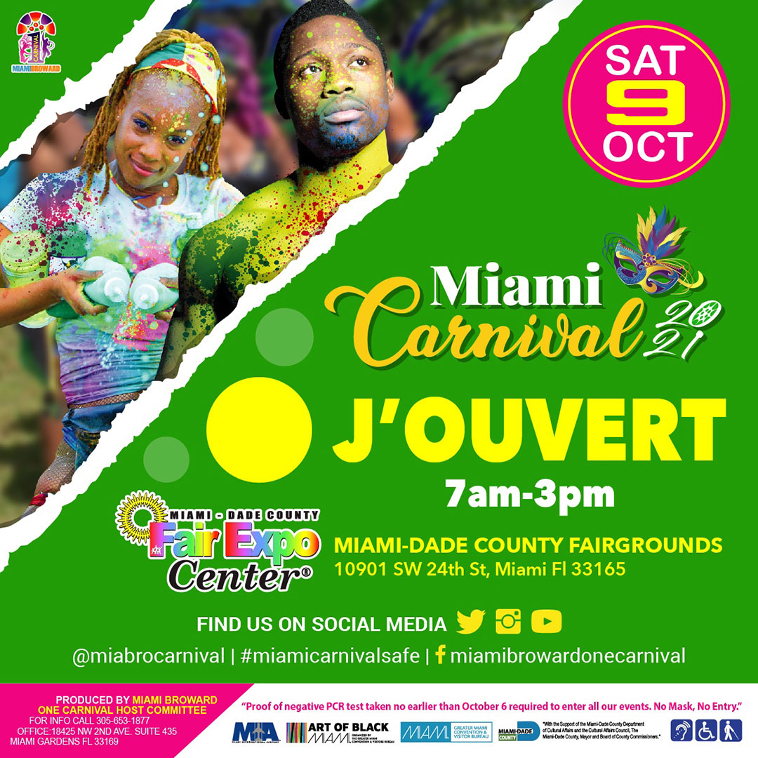 Miami Carnival Jouvert 2021