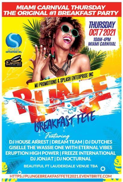 Plunge Breakfast Party 2021