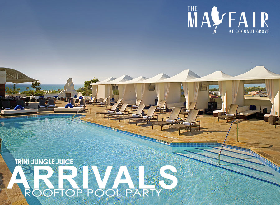Mayfair Hotel Rooftop Pool & Cabana