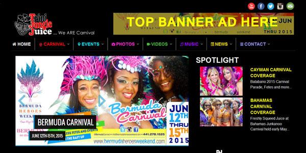 Trinidad Carnival Banners Week Banners