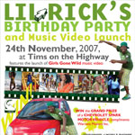 Lil Rick's Birthday Party - Winning ticket for Chevrolet Spark