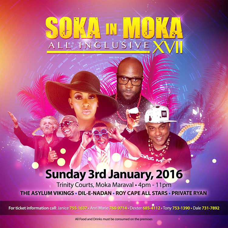 Soka In Moka XVII - Trinity College All Inclusive