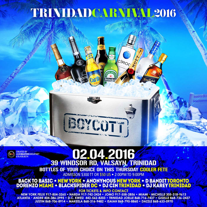 Boycott!!!! Bottle Of Your Choice On This Thursday