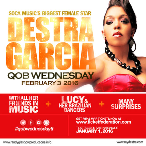 QOB Wednesday - Destra Garcia in Concert