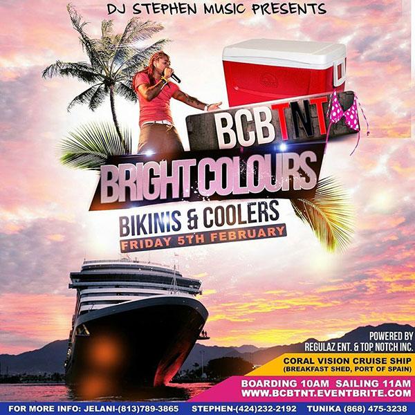 Bright Colours Bikinis & Coolers Boatride
