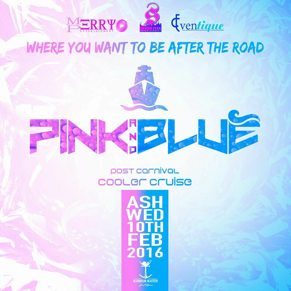 Pink & Blue Cooler Cruise